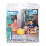Childrens Inflatable Chair Set