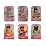 Disney Princess Mini Baby Dolls 6Asst