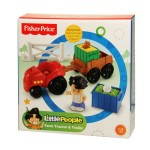 Little People Farm Tractor and Trailer