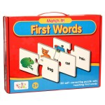 Match It First Words Game Puzzle