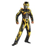 Transformers Bumblebee Dress Up 6-8Years