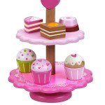 Classic Wooden Cupcake